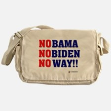 Nobama NoBiden Messenger Bag