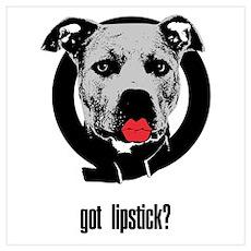Sarah Palin Got Lipstick? Poster