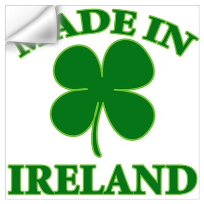 made in Ireland Wall Decal