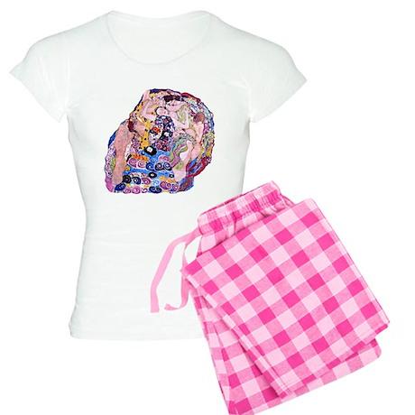"Klimt's ""The Virgin"" Women's Light Pajamas"