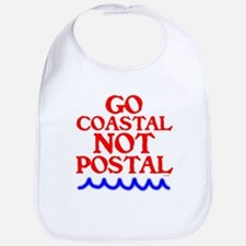 GO COASTAL-NOT POSTAL™ Bib