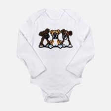 Three Boxer Lover Baby Outfits