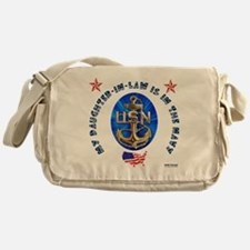 Navy Daughter-In-Law Messenger Bag