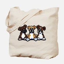 Three Boxer Lover Tote Bag