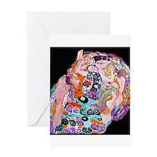 "Klimt's ""The Virgin"" Greeting Card"
