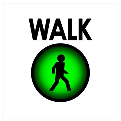 Walk! Canvas Art