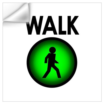 Walk! Wall Decal