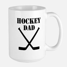 Hockey Dad Large Mug