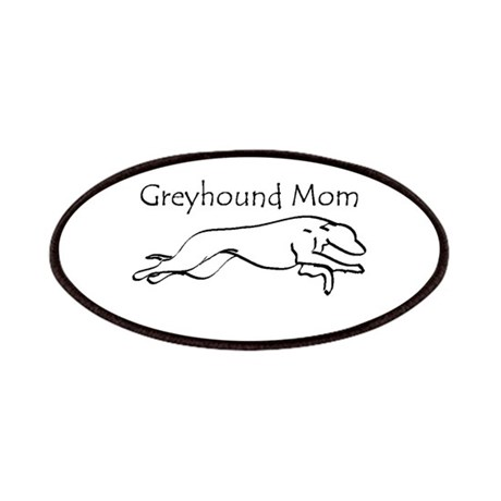 Greyhound Mom Patches