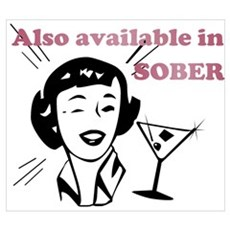 Also Available in Sober Poster