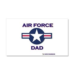 air force dad Car Magnet 20 x 12