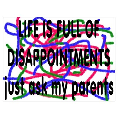 Disappointment Poster