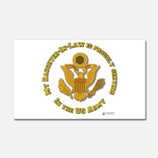 Army Daughter-in-Law Car Magnet 20 x 12
