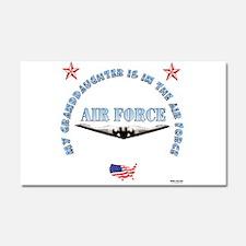 Air Force Granddaughter Car Magnet 20 x 12