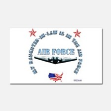 Air Force Daughter-in-Law Car Magnet 20 x 12