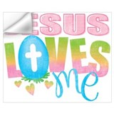 Jesus loves me Wall Decals