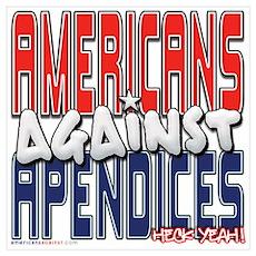 Americans Against Apendices [ Poster