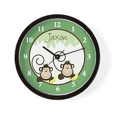 Silly Monkeys Wall Clock - Jaxon