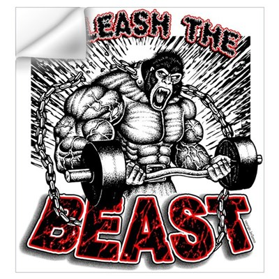 Unleash The Beast Wall Decal
