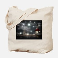lighthouse effects Tote Bag
