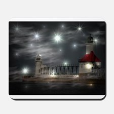 lighthouse effects Mousepad
