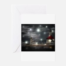 lighthouse effects Greeting Cards (Pk of 10)