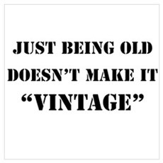 not vintage just old Poster