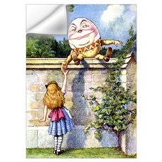 ALICE & HUMPTY DUMPTY Wall Decal