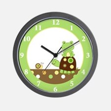 Laguna Frog and Turtle Wall Clock