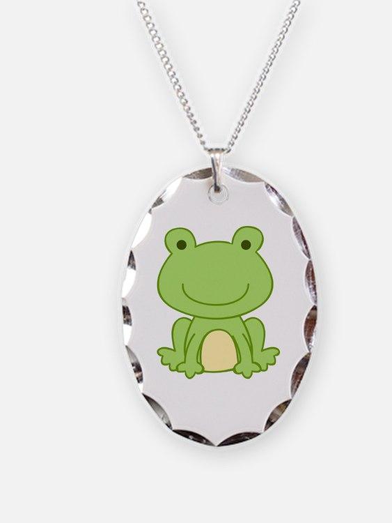 Laguna Frog Necklace