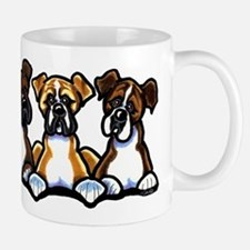 Three Boxer Lover Mug