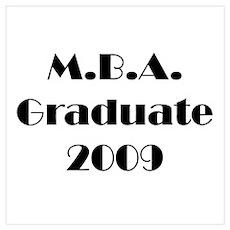 MBA Graduate 2009 Poster