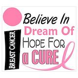 Breast cancer awareness Wall Art