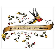 Speech-Language Pathology Scroll Poster