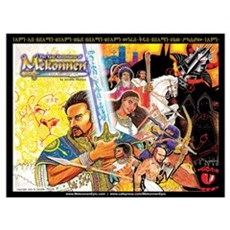 Mekonnen Epic Book Cover-- (16x20) Framed Print