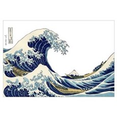 The Great Wave off Kanagawa Framed Print