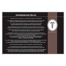 Hippocratic Oath Poster