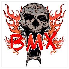 BMX skull 2 Poster