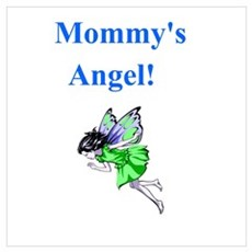 Mommm'y Angel Poster