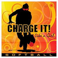 2011 Softball 40 Poster
