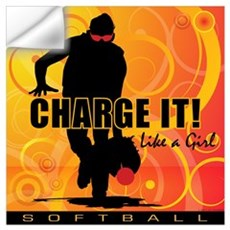 2011 Softball 40 Wall Decal