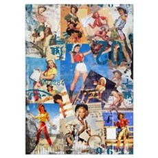 Cowgirl Pin-Ups No.1 Poster