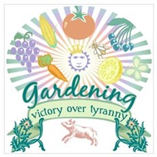 Victory Garden Canvas Art