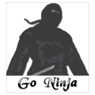 Go Ninja Poster