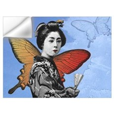 Madame Butterfly Wall Decal