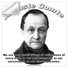 Auguste Comte 01 Wall Decal