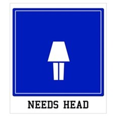 Needs Head (Female) Poster