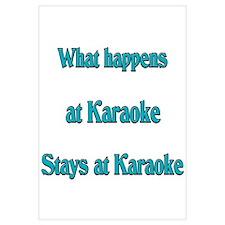 What happens at Karaoke Stays