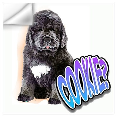 newfy puppy 1 Wall Decal