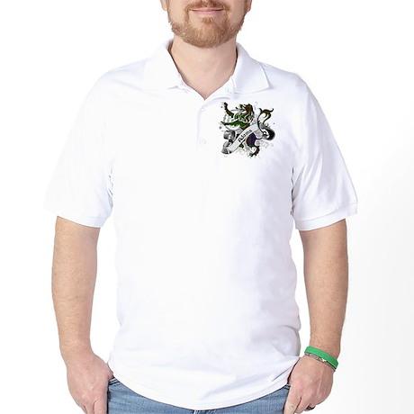 Adams Tartan Lion Golf Shirt